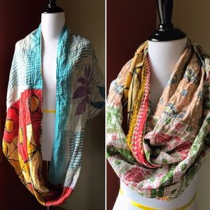 Accessories - Lovely infinity scarf with four patterns